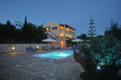 Paxos Sunset Lower Apartment