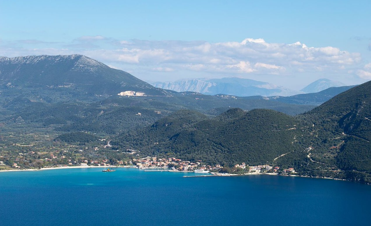 Angeliki's view to Vassiliki