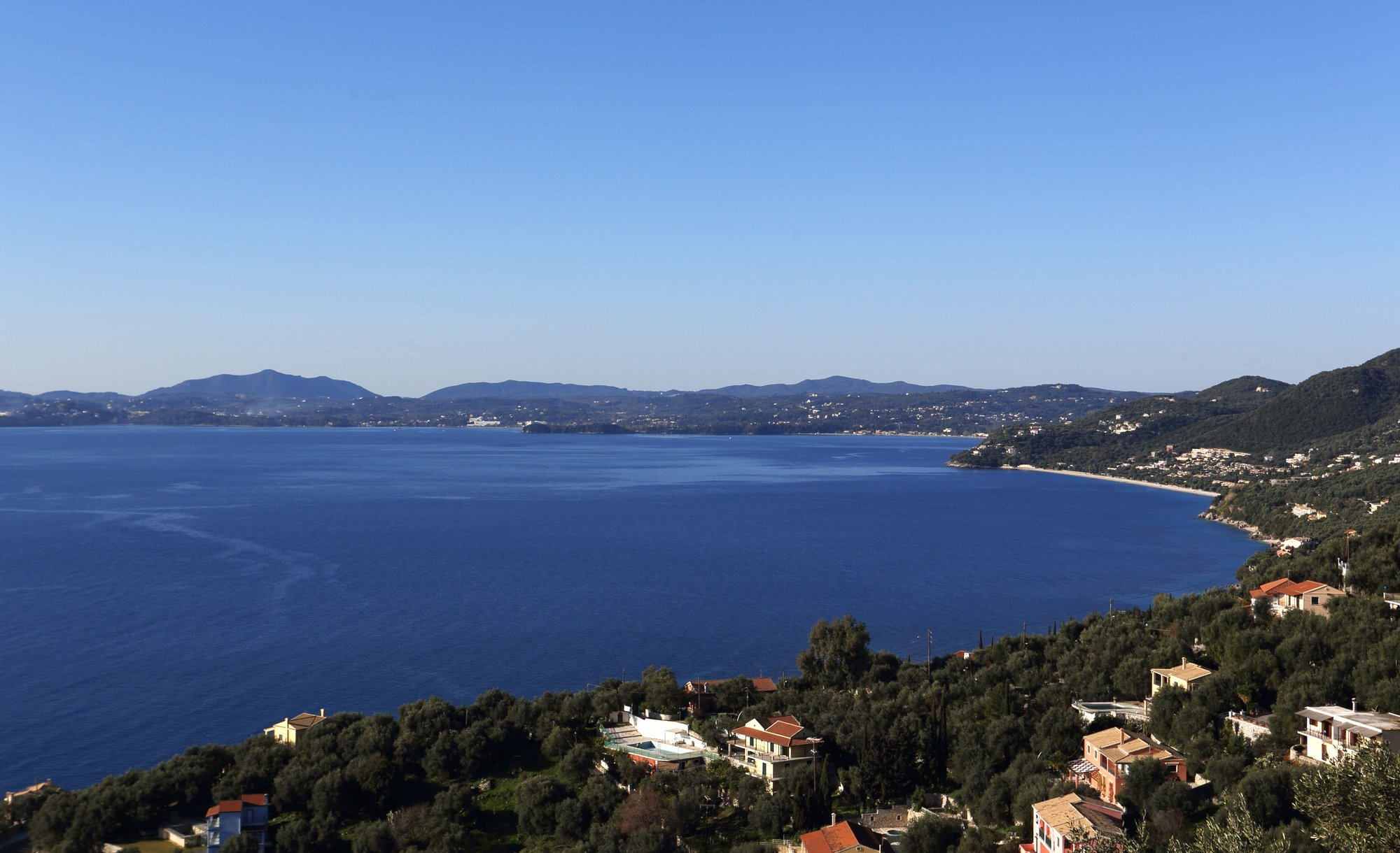 View to Corfu Town