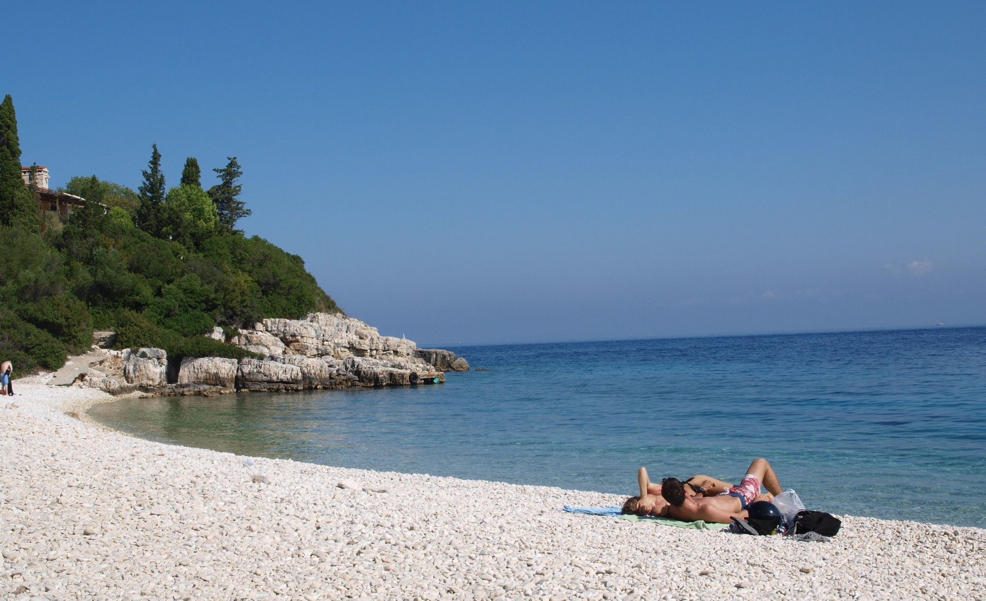 Beach below Athanasia