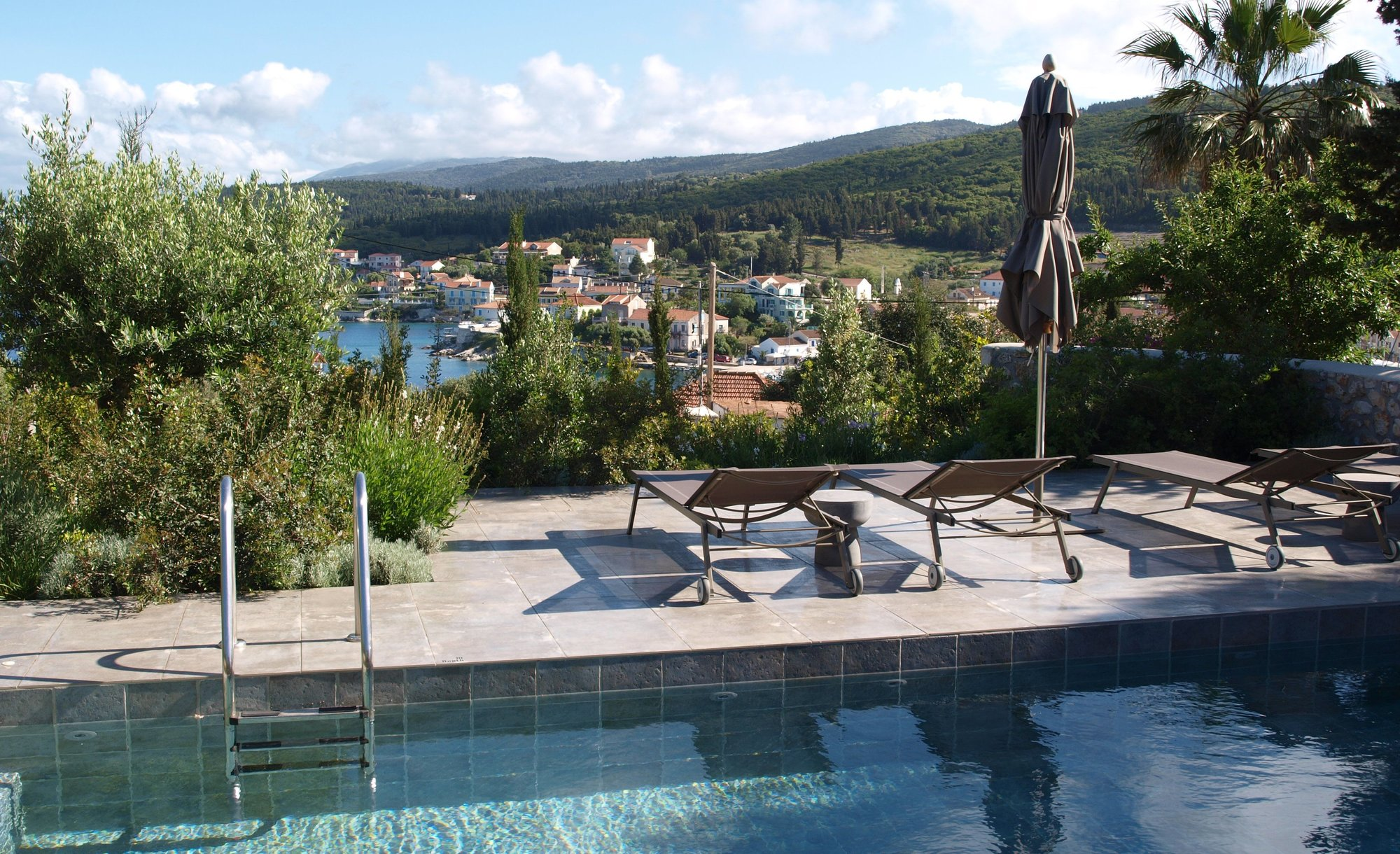 Fiscardo Bay Villa pool