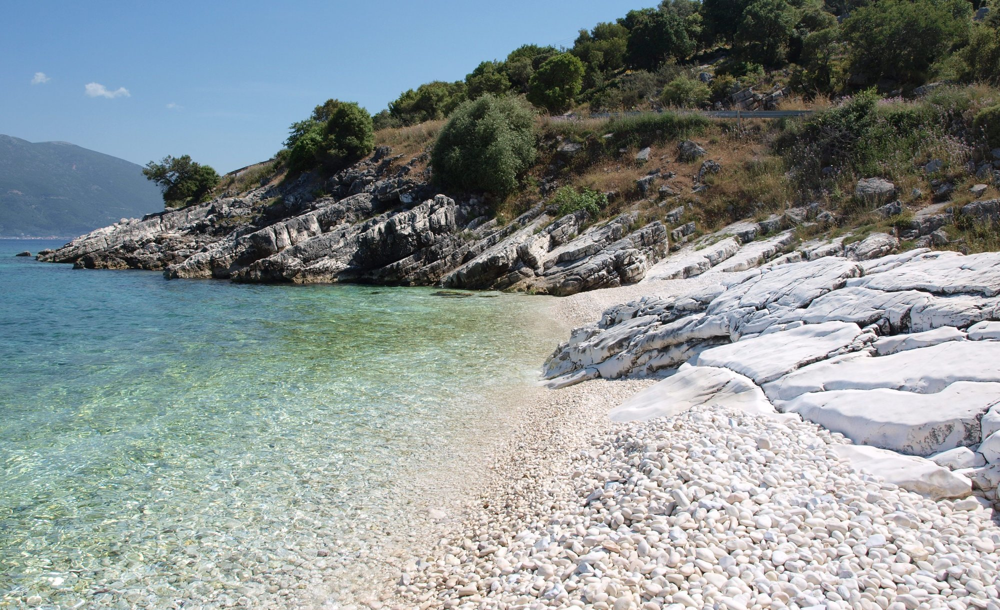A beach close to Gaios