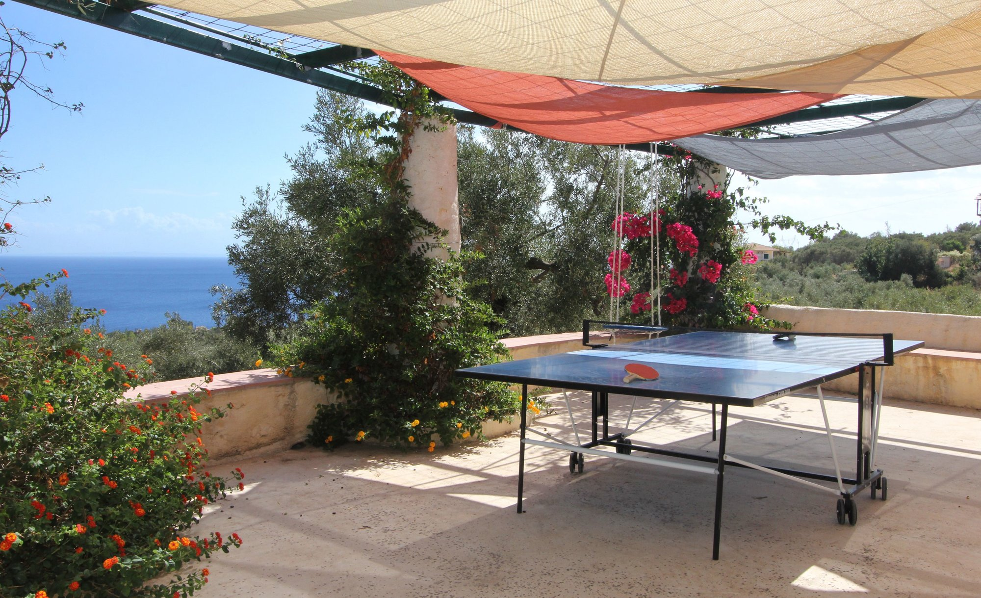 Table tennis terrace
